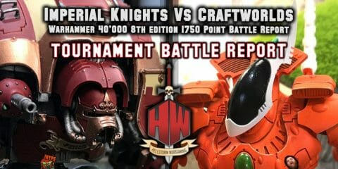 Imperial Knights vs Craftworlds