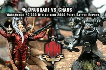 Drukhari vs Chaos