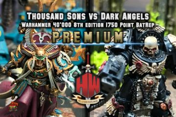 Premium Thousand sons vs Dark Angels