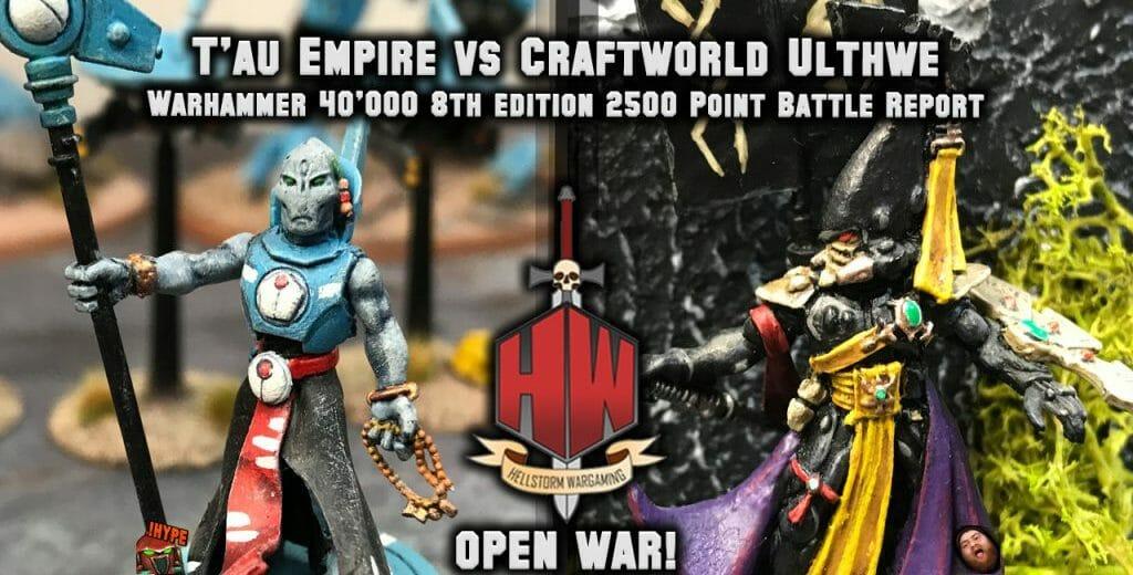 FREE: T'au Empire vs Craftworld Eldar Ulthwe 2500 8th Edition