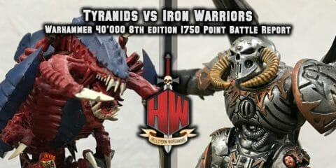 Tyranids vs Iron Warriors
