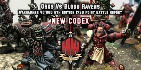 Orks vs Space Marines