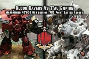 Blood ravens vs tau
