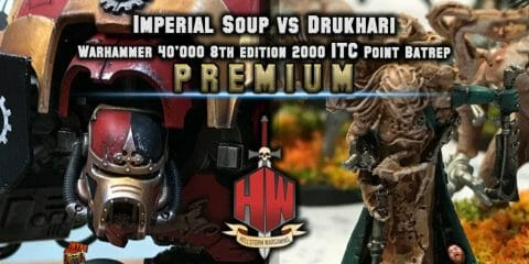 IMperial soup vs Drukhari