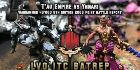 Tau vs Ynnari