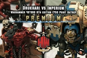Drukhari vs Knights