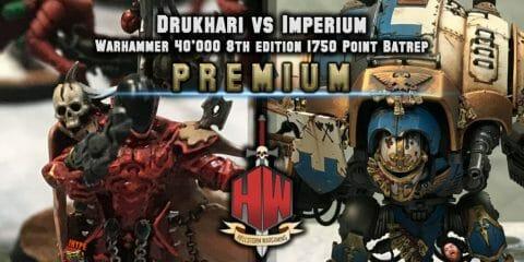Drukhari vs Knights