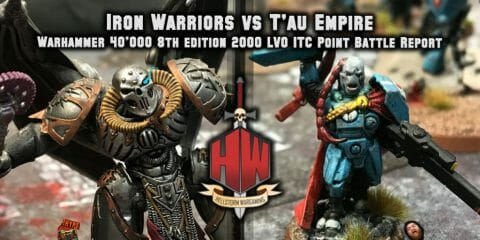 Iron warriors vs T'au