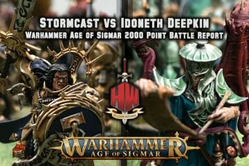 Stormcast vs Idoneth