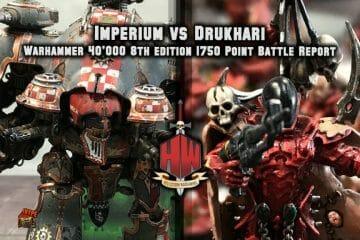 Knights vs Drukhari